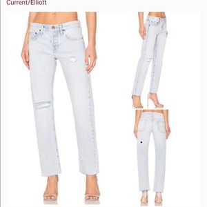 Current Elliot Crossover Jeans Size 28